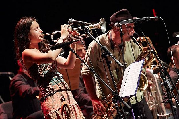Concert Andrea Motis & Joan Chamorro Big Band