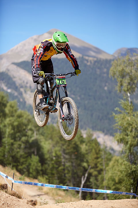 Sports photography, Andorra, Toti Ferrer photographer, MTB World Cup