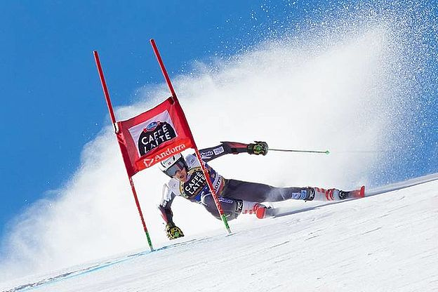 Sports photography, Alpine Ski World Cup, Grandvalira, Andorra, Toti Ferrer Fotògraf